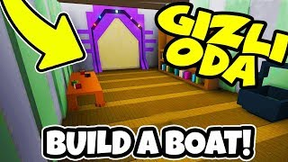 UNSINKABLE GEM HIDDEN PLACE / Build A Boat For Treasure / Roblox English