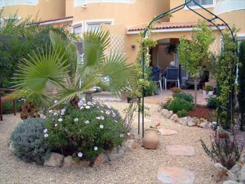 Gravel Back Garden Design Ideas YouTube