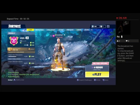 tazxking1's Live PS4 Broadcast