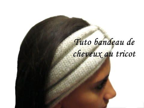 tuto tricot bandeau pour cheveux au tricot facile headband knit youtube. Black Bedroom Furniture Sets. Home Design Ideas