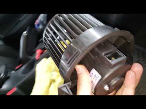 AC NOT WORKING How to Replace Your Blower Motor | How to Remove your Glove Box | 2016 Nissan Sentra