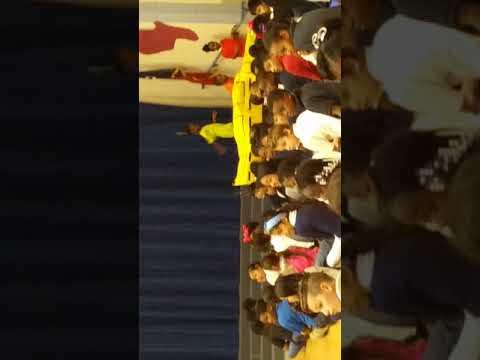 Black history program my west african dance..