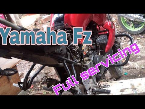 Servicing of yamaha fz | Yamaha Fz16 | Total servicing |