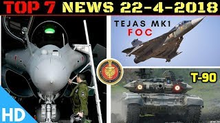 Indian Defence Updates : Tejas MK1 FOC,Rafale Tech Transfer,T-90 Engine Deal,Hambantota Port Fails