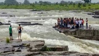 Gwalior sultangarh waterfall accident 15 august 2018