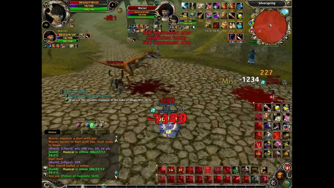 Runes of Magic - Scout Skills - YouTube