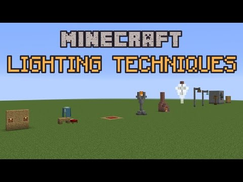Minecraft Build School: Lighting Techniques