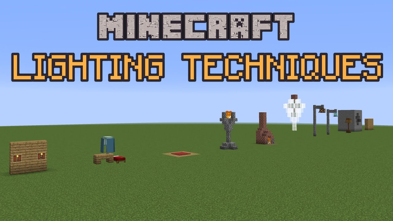 Minecraft Build School Lighting Techniques Youtube