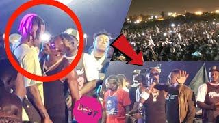 HERH!! Shatta Wale & Stonebwoy Cl@sh Again, Perform Together For First Time In Ashaiman