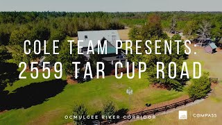 COLE TEAM Presents: 2559 Tar Cup Road, Abbeville, GA 31001 (Alexacarri Plantation)