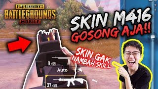 SKIN GAK NAMBAH SKILL! M416 GOSONG IS THE BEST! | SOLO VS SQUAD | PUBG MOBILE