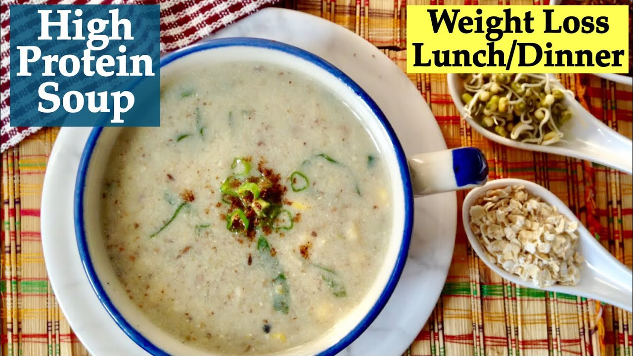High on protein soup recipe how to make healthy soup How to make healthy soup for dinner