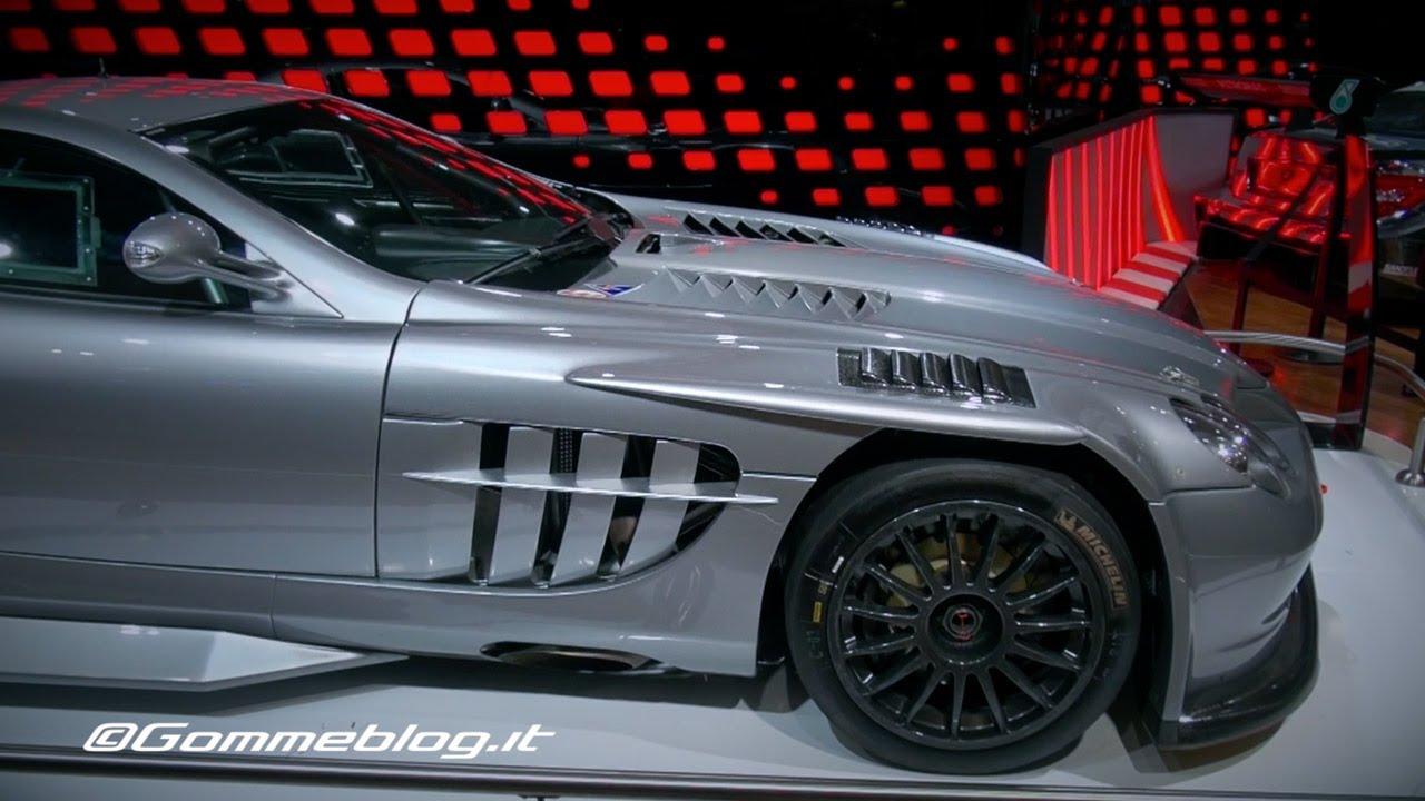 Mercedes Slr 722 Gt Amp Sls Amg Gt3 Live In Paris 2014 Youtube