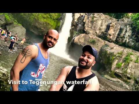 Visit to Tegenungan waterfall, Bali