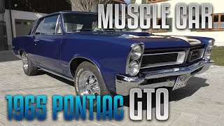 The BM – Muscle Car Heaven – 1965er Pontiac GTO | VLOG 058