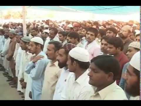 Funeral of Shah Saeed Ahmed Raipuri (R.A)