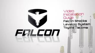 Falcon Shocks Install: Tacoma Leveling System