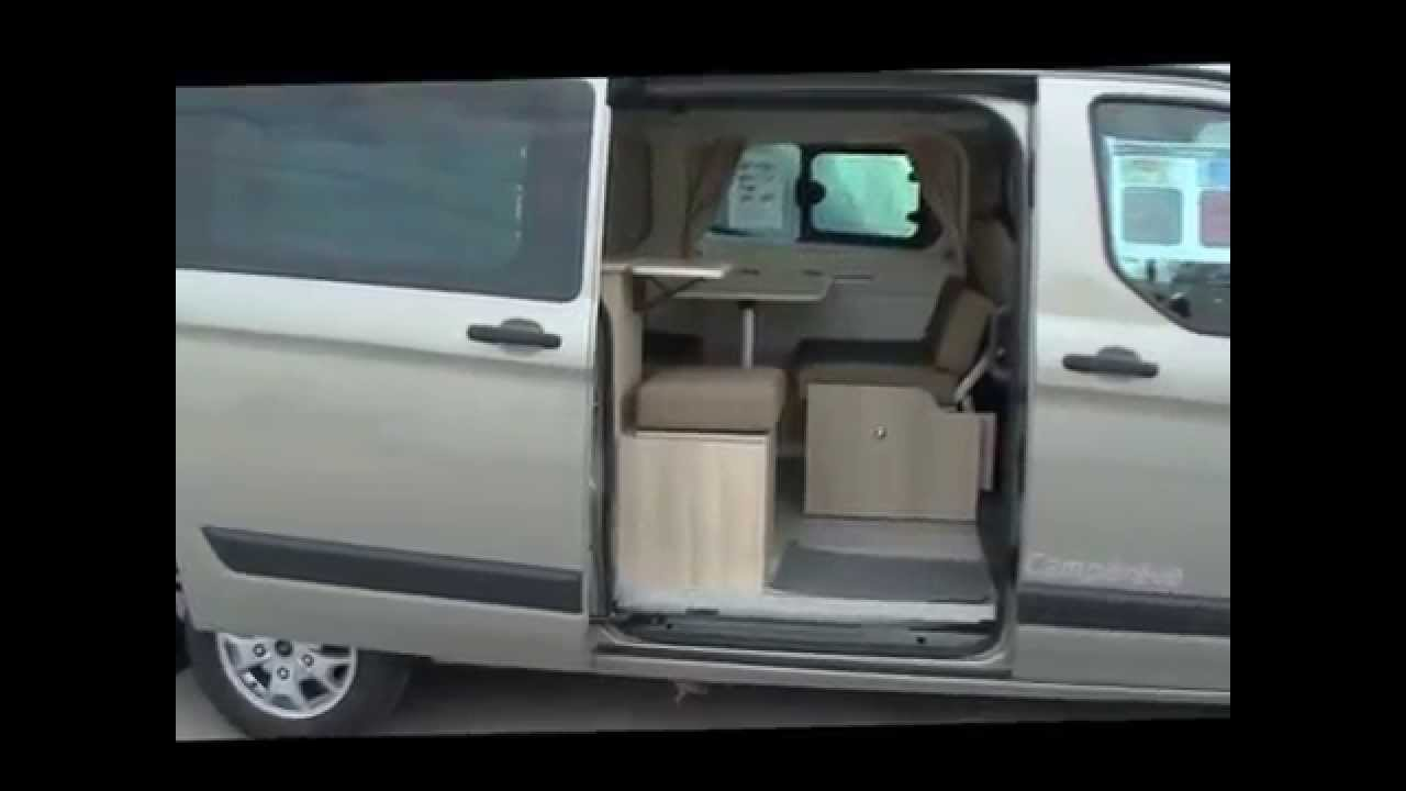 Combi Ford New Transit Campereve Capland Camping Car Youtube