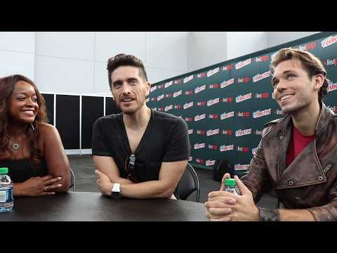 Josh Keaton Shiro, Kimberly Brooks Allura & AJ Locascio Lotor talk Voltron at NYCC '17