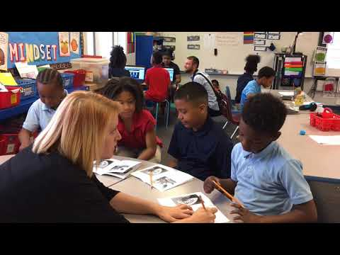 Teacher shows value of small group reading instruction