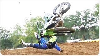 Epic Motocross Crash | Always Wear A Helmet