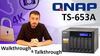 The QNAP TS-653A Featuring 4K and 1080p Transcoding, DUAL OS, DUAL HDMI NAS - TS-453A-4G