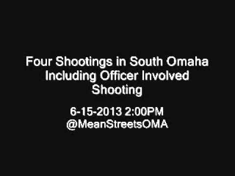 Four Shootings in South Omaha including Officer Involved