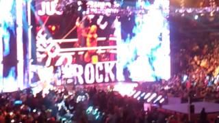 WWE RAW The Rock 2013/04/01