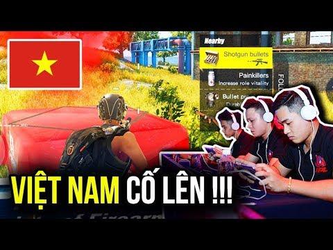 Cổ vũ tuyển VIỆT NAM tại giải đấu game Châu Á | Rules of Survival | VÌ MÀU CỜ SẮC ÁO !!!
