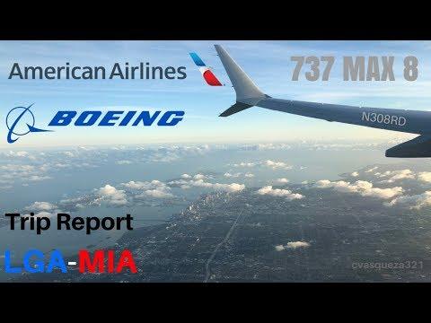 American Airlines 737 MAX 8 | LGA-MIA | Trip Report