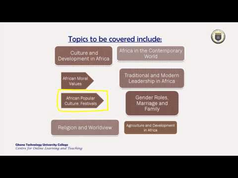 African Studies Course Overview