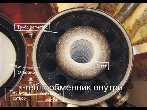 Теплообменник ракетной печи теплообменник ридан нн 19а купить