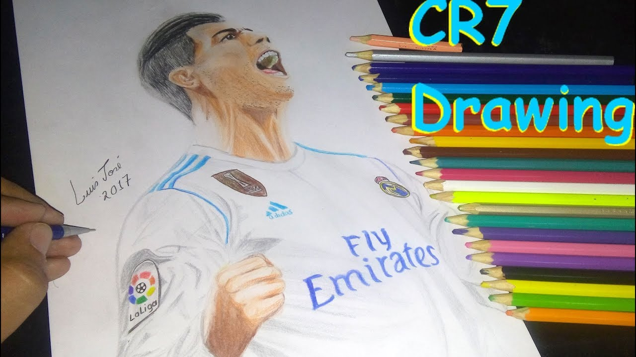 Cristiano Ronaldo Cr7 Do Real Madrid Capa Da Fifa 2018 Speed