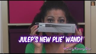 TUTORIAL & REVIEW: Julep's Plie' Wand | CurlyKimmyStar Thumbnail
