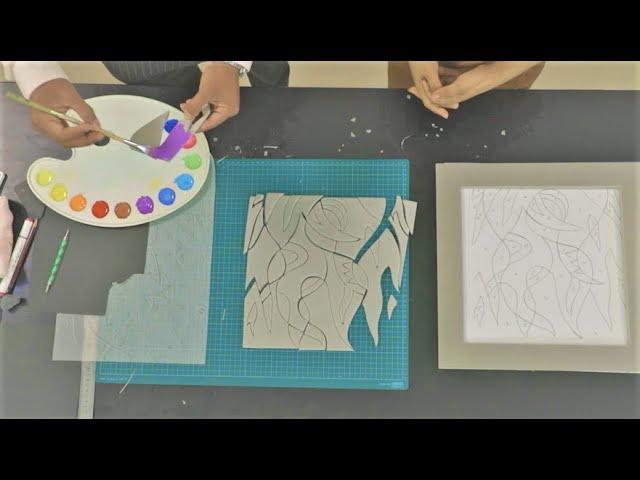 គំនូរតាមផ្ទះ រដូវកាលទី២ ភាគទី១០ សិល្បៈនៃការផ្គុំរូប ART@HOME SEAON2 Ep10 ART PUZZLE