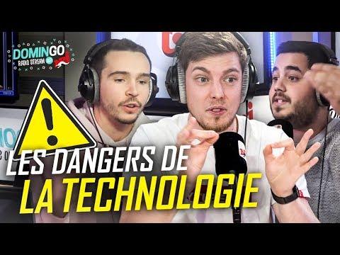 LES DANGERS DE LA TECHNOLOGIE 😨 - Romain Lanery sur NRJ