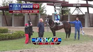 Ajax Downs October 26th, 2020 Race 10