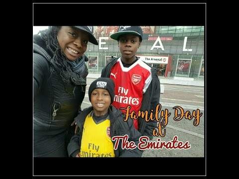 Family Day at the Emirates