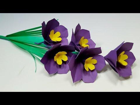Paper Craft: Easy Making DIY Beautiful Paper Stick Flower | Paper Flower | Abigail Paper Crafts