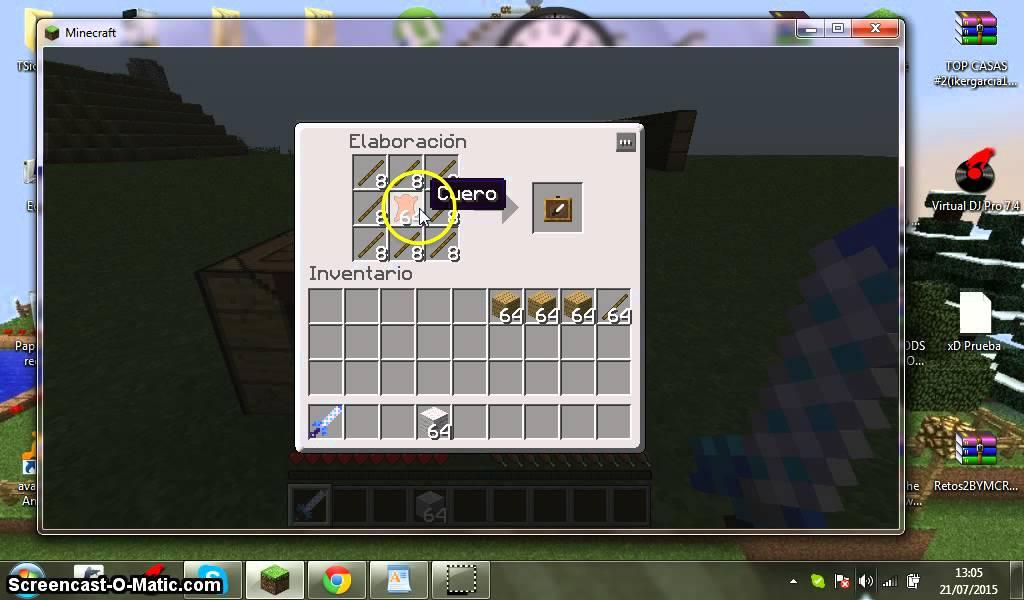 Minecraft Como Hacer Cuadro De Pintura Y Cuadro De Elementos - YouTube