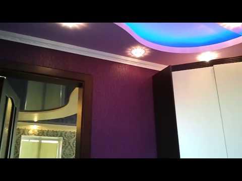Многоуровневые потолки из гипсокартона и натяжного потолка в доме и квартире.