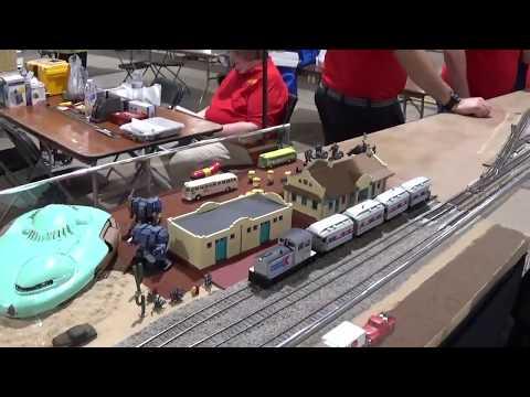The train show in Timonium MD