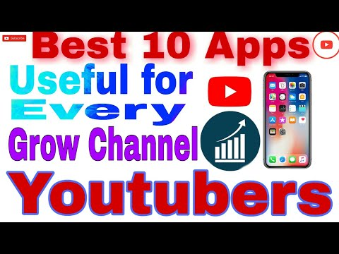 Best 10 Useful Apps for every Youtubers | Youtubers creators | Youtubers ke liye Best Apps Mobile