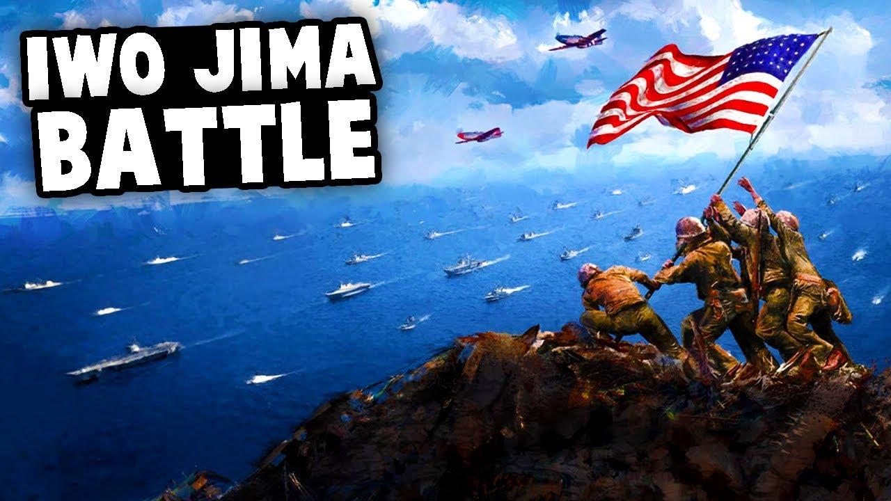 EPIC MAP - The BATTLE of IWO JIMA! (Men of War AS2 Mods - Custom Map