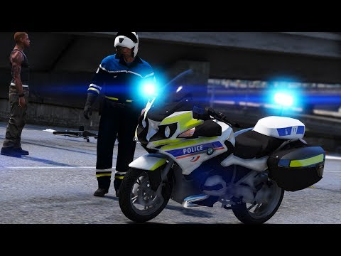 [GTA-LSPDFR] MOTARD DE LA POLICE NATIONALE #190