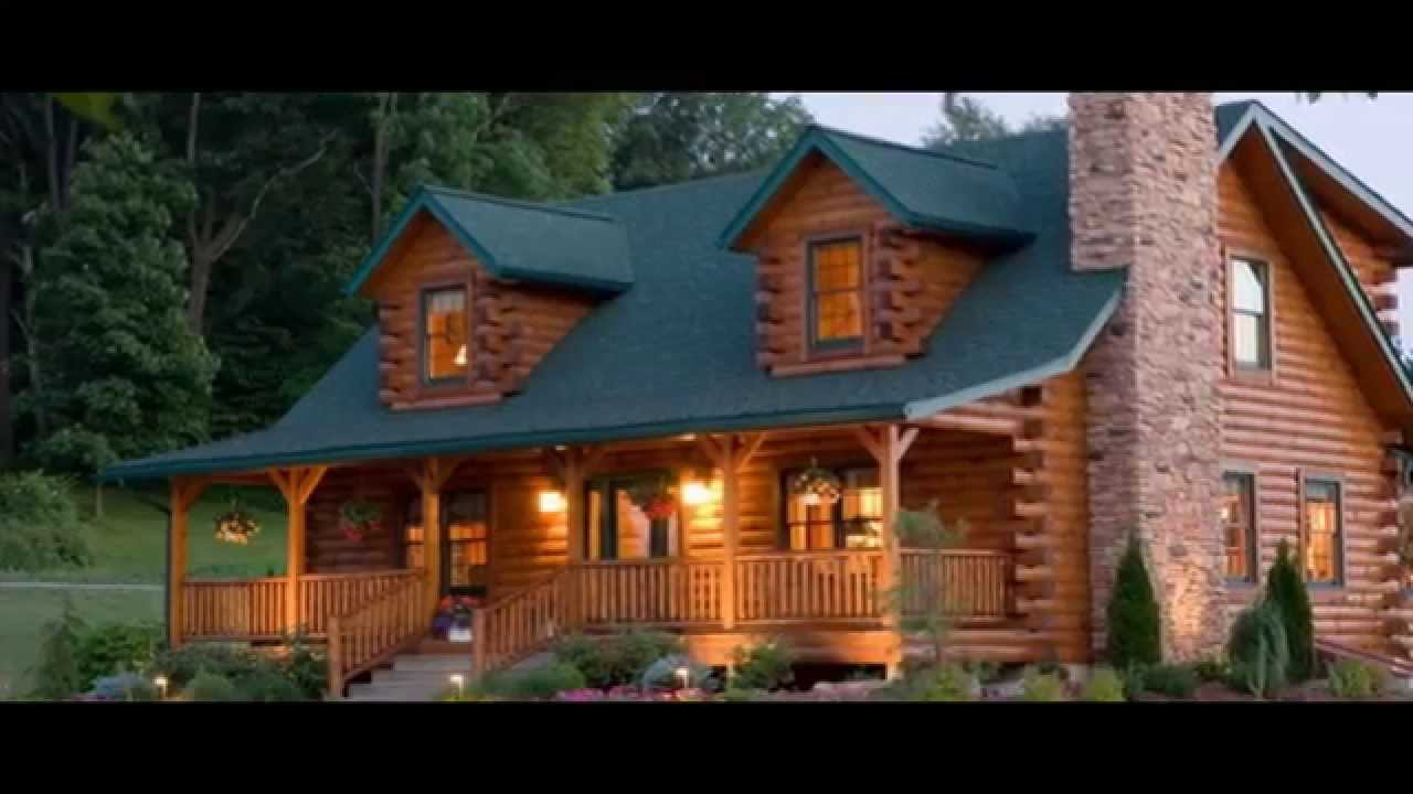 Log homes log cabin homes southland log homes youtube for Cabin builder texas
