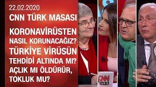 Koronavirüsten nasıl korunacağız? Türkiye virüsün tehdidi altında mı? - CNN TÜRK Masası 22.02.2020
