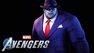 Marvel's Avengers - Official Hulk Joe Fixit Outfit Breakdown