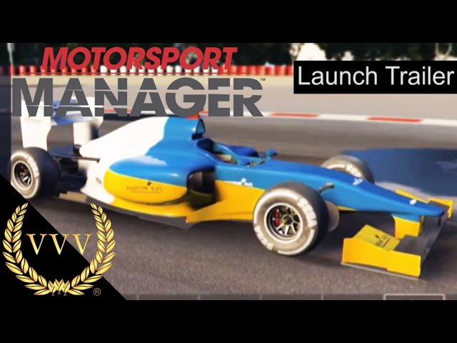 Motorsport Manager Launch Trailer