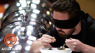 Blind Taste Test Elimination Challenge   MasterChef Australia   MasterChef World